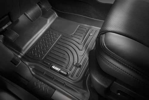 18 Ford Expedition 2nd Seat Floor Liner Black Husky Liners