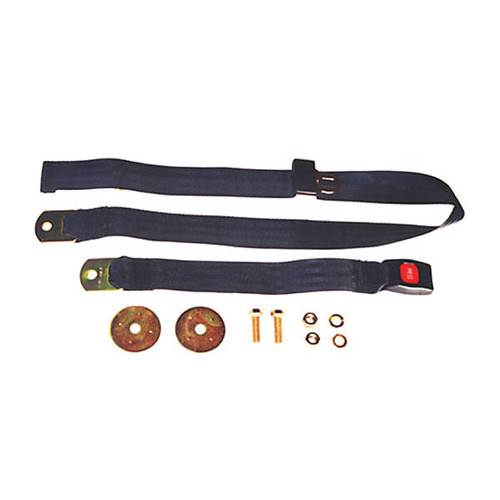 Omix-Ada, 13202.04 - 60 in Front/Rear Lap Seat Belt, 41-95 Jeep CJ and Wrangler