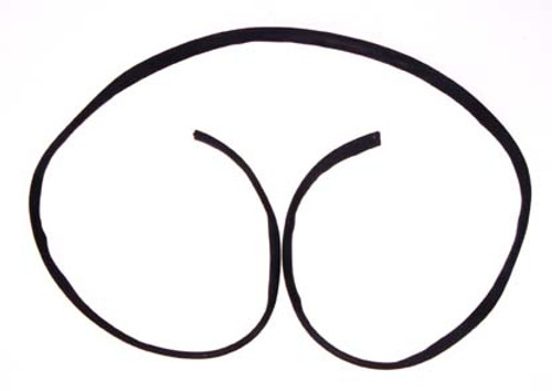 Omix-Ada, 12301.01 - Windshield Frame Seal, 41-49 Ford and Willys Models