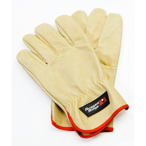 Rugged Ridge, 15104.41 - Recovery Gloves, Leather