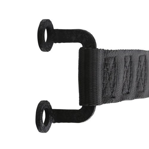 Door Strap Adjustable Pair Black Smittybilt