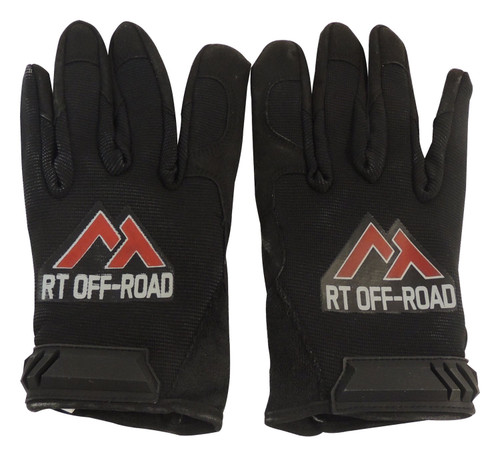 Leather-palmed recovery gloves; One size fits most