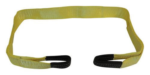 """Tree Saver Strap; 3"""" x 6' 30K lb.; Features leather-wrapped ends for a long life"""