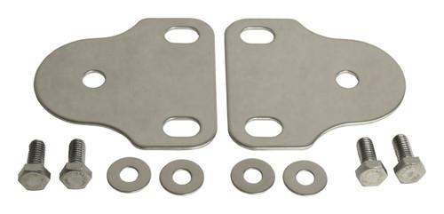 Stainless Steel Interior Windshield Bracket Kit for 76-95 CJ-5, 7, 8 YJ Wrangler