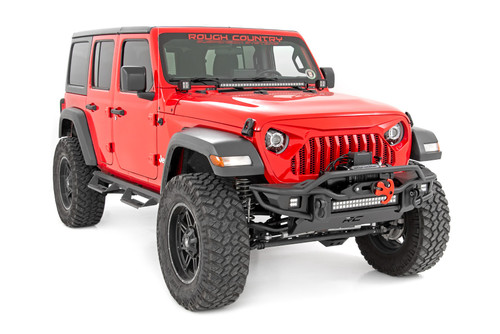 Jeep 9-Inch DRL Halo LED Headlights (Wrangler JL/JLU, Gladiator JT)