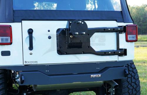 Rusty's Tire Carrier - 2007-2017 JK Wrangler