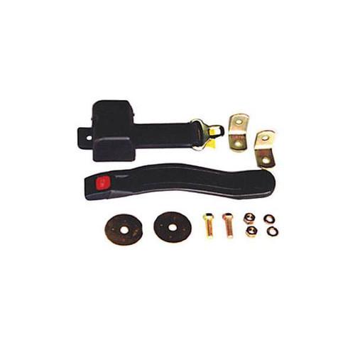 Omix-Ada, 13202.02 - Lap Seat Belt, Black, 87-95 Jeep Wrangler (YJ)