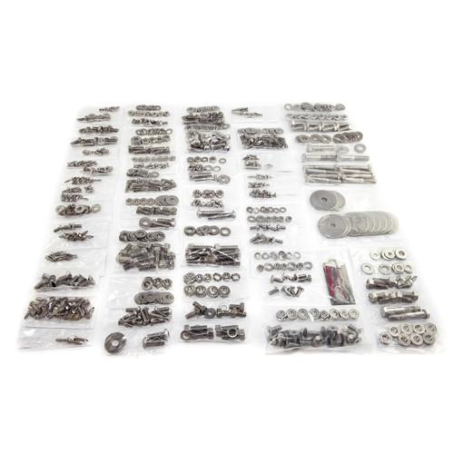 Omix-Ada, 12215.01 - Body Fastener Kit, 55-71 Jeep CJ5 or CJ6
