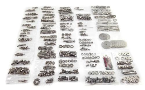 Omix-Ada, 12215.02 - Body Fastener Kit, Tailgate, 55-75 Jeep CJ5 and CJ6