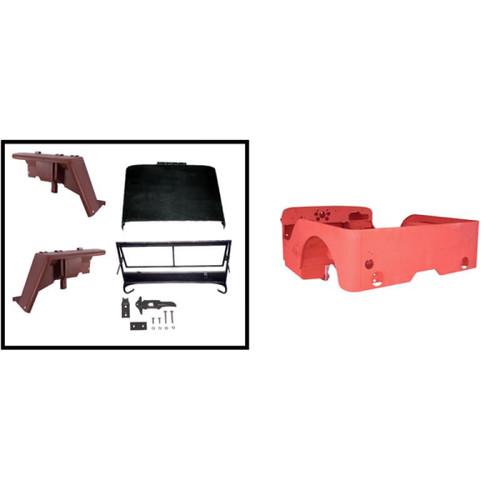 Omix-Ada, 12001.04 - Steel Body Kit, 41-45 Ford GPW