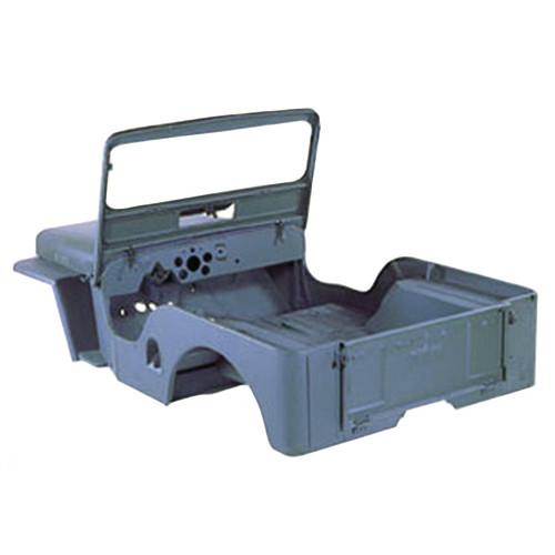 Omix-Ada, 12002.07 - Reproduction Steel Body Tub, 49-53 Willys CJ3A