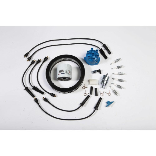 Omix-Ada, 17256.01 - Ignition Tune Up Kit 4.2L 87-90 Jeep Wrangler (YJ)