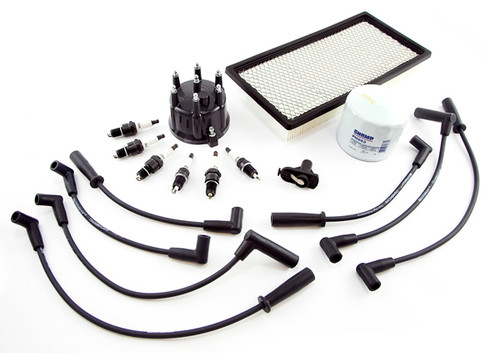 Omix-Ada, 17256.08 - Ignition Tune Up Kit 4.0L 97-98 Jeep Cherokee (XJ)