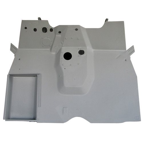 Omix-Ada, 12007.01 - Front Floor Panel, 41-45 Willys MB and Ford GPW