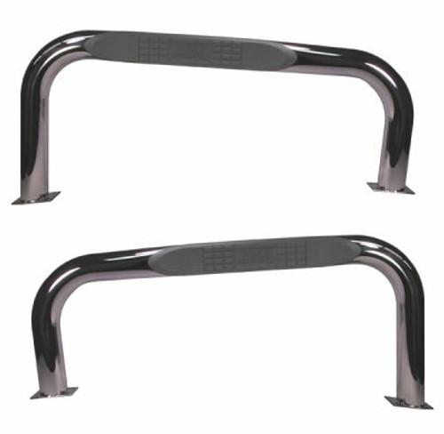 Rugged Ridge, 11522.03 - Nerf Bars, Stainless Steel, 76-86 Jeep CJ Models