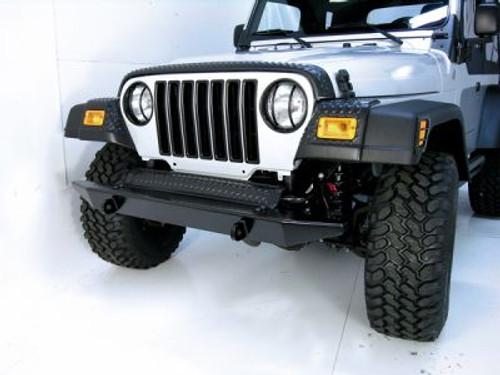 Rugged Ridge, 11650.10 - Front Frame Cover, Body Armor, 97-06 Jeep Wrangler