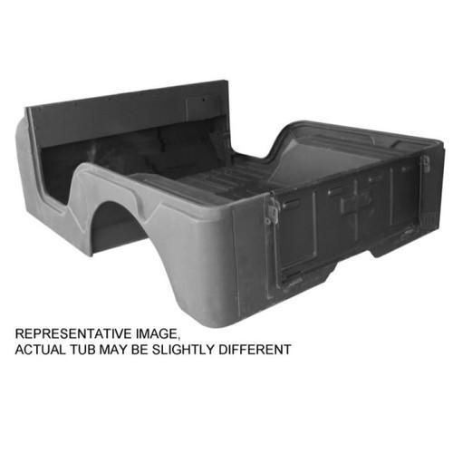 Omix-Ada, DMC-5461335 - Body Tub W/ Jeep Script, 76-83 Jeep CJ5