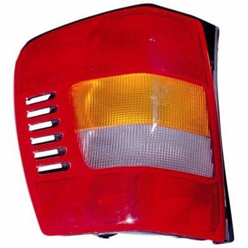Omix-Ada, 12403.23 - Left Tail Lamp, 99-04 Jeep Grand Cherokee (WJ)