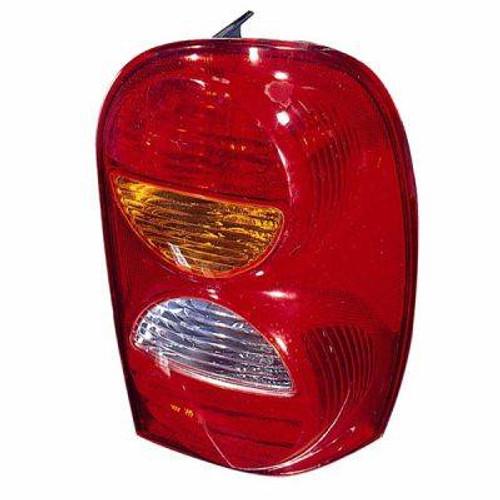 Omix-Ada, 12403.25 - Left Tail Lamp, 02-04 Jeep Liberty (KJ)