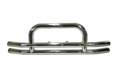 Rugged Ridge, 11520.01 - 3 in Stainless Steel Front Tube Bumper, 55-06 Jeep Models