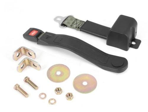 Omix-Ada, 13202.41 - Lap Seat Belt, Olive, 87-95 Jeep Wrangler (YJ) (13202.41)