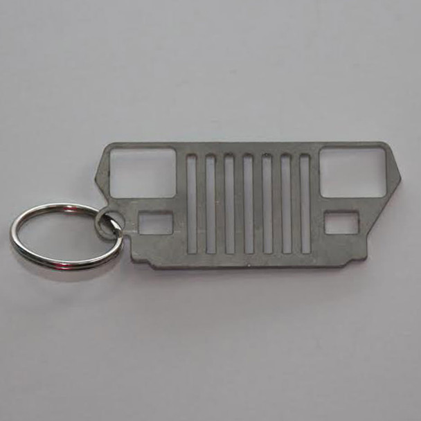 Gifts, KC3400 - Jeep YJ Grill Keychain