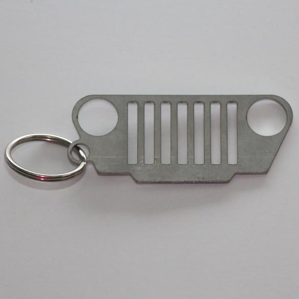 Gifts, KC3700 - Jeep TJ Grill Keychain