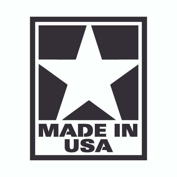 Decal, DEC-USA - USA Made Decal