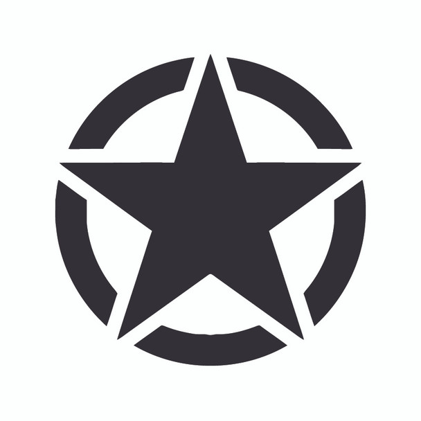 Decal, DEC-STAR - Star Emblem Decal
