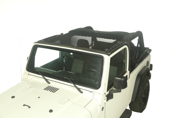 Rugged Ridge, 13579.09 - Eclipse Sun Shade, Full Cover, 04-06 Jeep Wrangler Unlimited