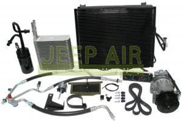 Jeep Air, CK-0225 - 2002 TJ Wrangler AC Kit 2.5 Liter Engine
