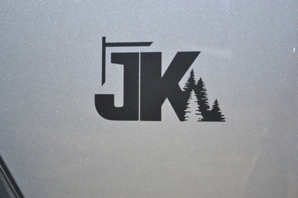 JK TREES DECAL