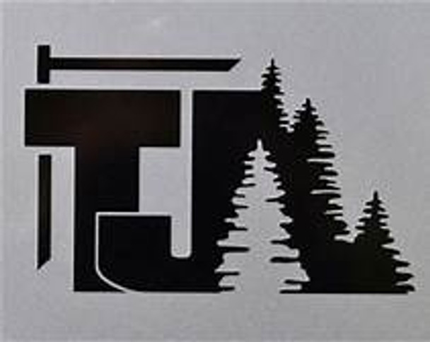 TJ TREE DECAL