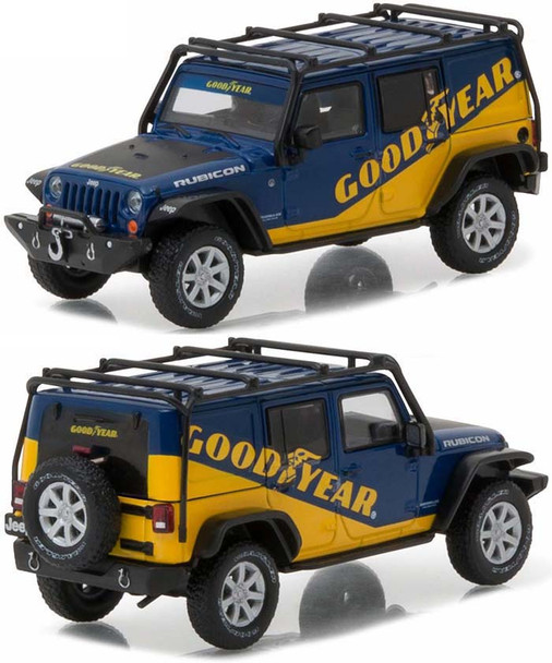 GREENLIGHT 1:43 ALL-TERRAIN - 2016 JEEP WRANGLER UNLIMITED - GOODYEAR