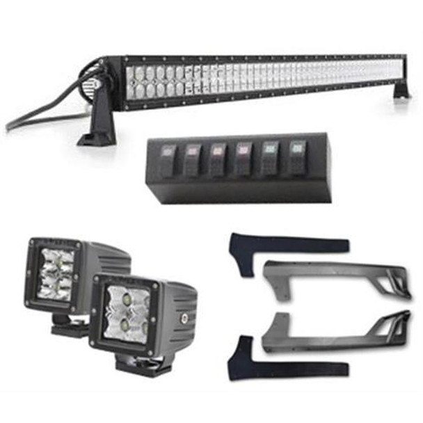 Jeep JK LED Light Bundle Black)