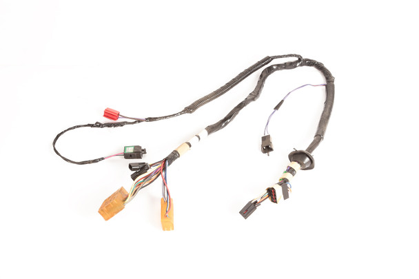 Door Wiring Harness, Front; 94-96 Jeep Cherokee XJ on light bar for jeep cherokee, tow bar for jeep cherokee, serpentine belt for jeep cherokee, air intake for jeep cherokee, 02 sensor for jeep cherokee, receiver hitch for jeep cherokee, brake light switch for jeep cherokee, new engine for jeep cherokee, fuel filter for jeep cherokee, battery cables for jeep cherokee, hood scoop for jeep cherokee, transmission cooler for jeep cherokee,