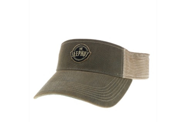 JeepHut Adjustable Visor Grey Trucker 1040636