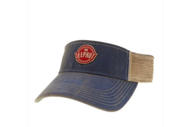 The JeepHut JH-VS-BL Adjustable Visor Blue