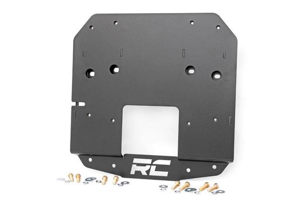 Jeep Spare Tire Relocation Bracket 18-19 Wrangler JL w/ Rear Proximity Sensors)