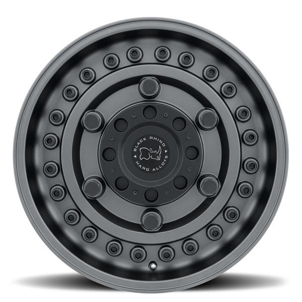BLACK RHINO ARMORY 20x9.5 5/127 ET-18 CB71.6 GUNBLACK