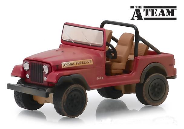 Greenlight 1:64 Hollywood Series 24 - The A-Team 1983-87 TV Series) - Jeep CJ-7