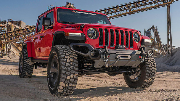 Rugged Ridge Red JT Gladiator Package