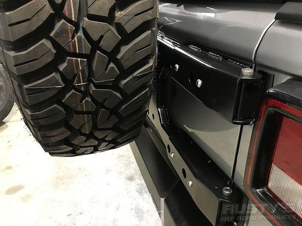 Rusty's Tire Carrier - 2018 and Later JL Wrangler