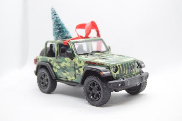 Jeep Wrangler JL Rubicon Ornament Camo- Limited Edition