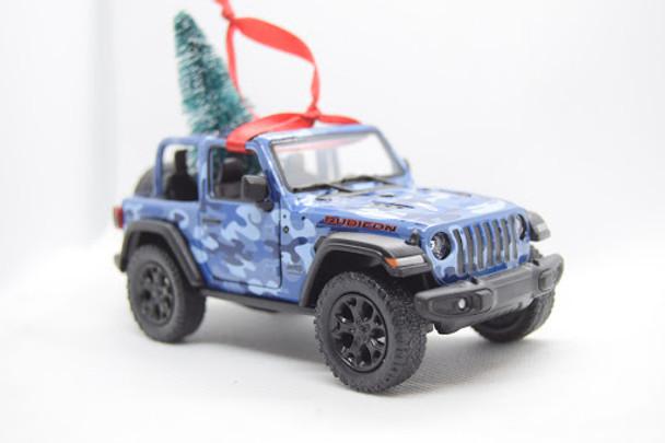 Jeep Wrangler JL Rubicon Ornament Blue Camo- Limited Edition