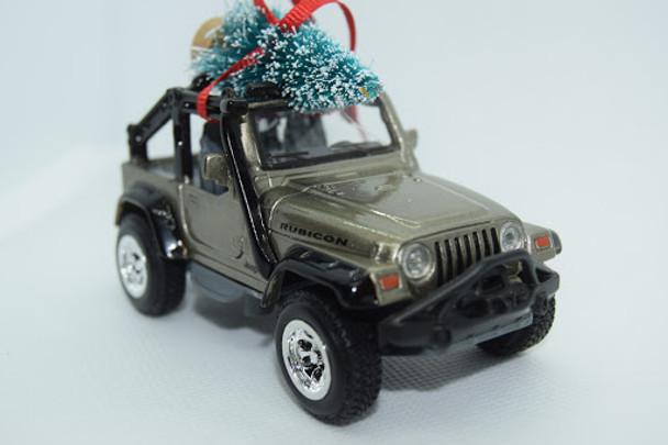 Jeep Wrangler TJ Rubicon Ornament