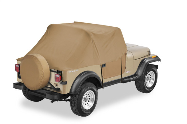 All Weather Trail Cover - '97-06 Wrangler TJ Exc. Unlimited (Spice)