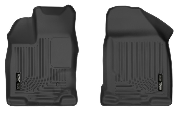 07-14 Ford Edge 07-15 Lincoln MKX Front Floor Liners Black Husky Liners