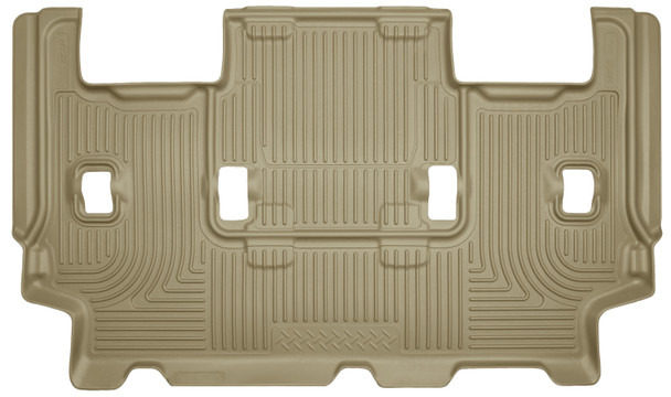 07-10 Ford Expedition 08-17 Lincoln Navigator 3rd Seat Floor Liner Tan Husky Liners