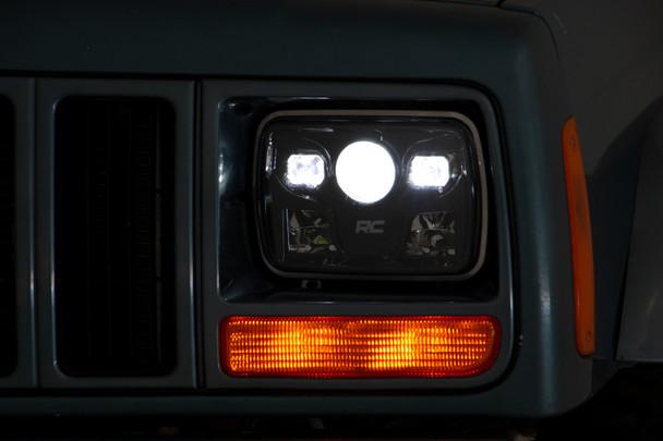 Jeep 5X7 Inch LED Headlights (Cherokee XJ)